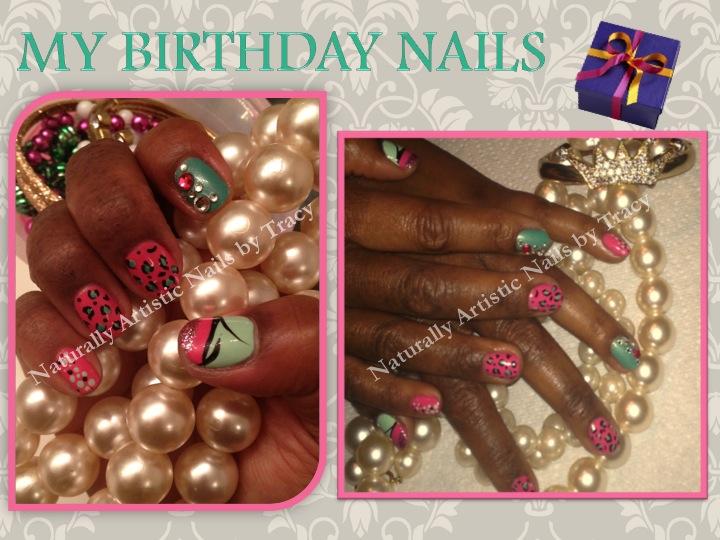 Bday Nails 2013