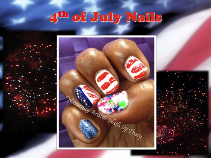 4th of July Freedom Nails